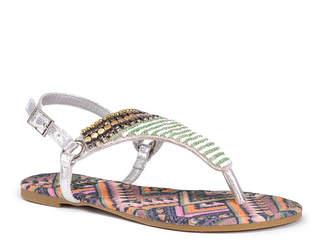 Muk Luks Sheena Womens Flat Sandals