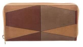 Gucci Nylon Zip Around Wallet