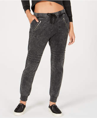 Material Girl Active Juniors' Moto-style Sweatpants