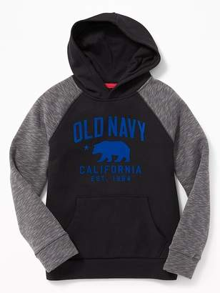 Old Navy Graphic Raglan Pullover Hoodie for Boys