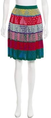 Mary Katrantzou Mandy Jacquard Skirt w/ Tags