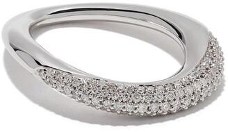 Georg Jensen Offspring brilliant cut diamond ring