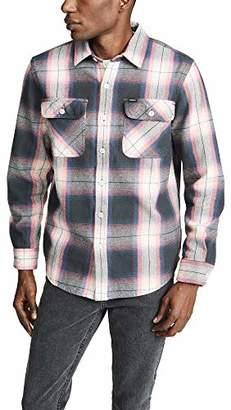 Obey Men's Hirsch Long Sleeve Woven Shirt