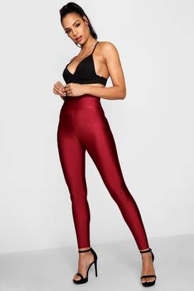 boohoo High Waist Disco Pants