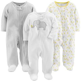 Carter's Simple Joys by Baby 3-Pack Neutral Sleep and Play