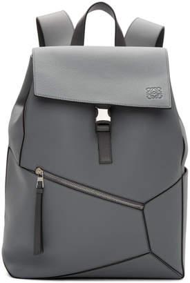 Loewe Grey Puzzle Backpack