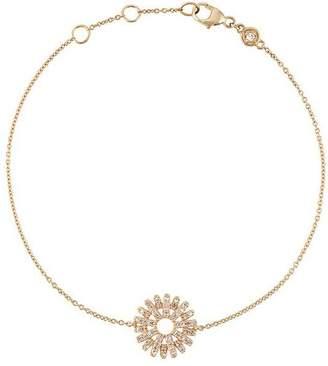 Astley Clarke Rising Sun 14kt gold diamond bracelet