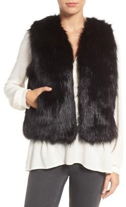Women's Sole Society Faux Fur Vest $79.95 thestylecure.com