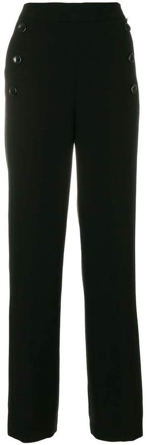 DKNY High waisted sailor trousers