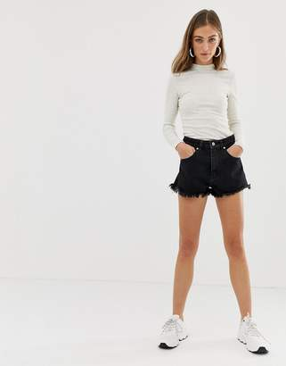 Abrand Denim Abrand high waisted denim shorts