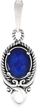 Carolyn Pollack Sterling Silver Gemstone Doublet Enhancer
