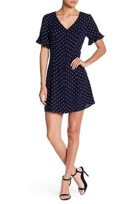 Abound Button Up Swing Dress