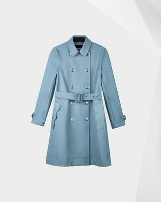Hunter Women's Refined Perforated Trench Coat