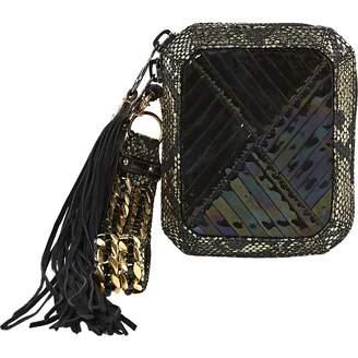 3.1 Phillip Lim Metallic Patent leather Clutch Bag