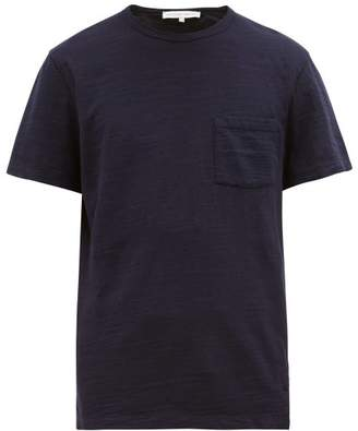 Orlebar Brown Sammy Slubbed Cotton Jersey T Shirt - Mens - Navy