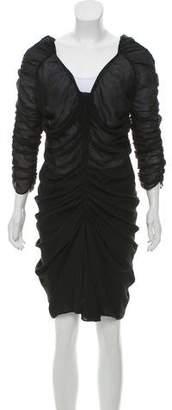 Isabel Marant Sheer Mini Dress