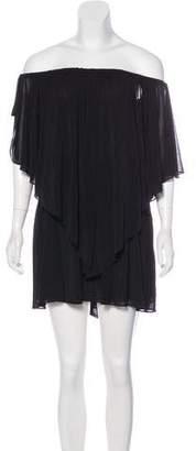Halston Tiered Midi Dress w/ Tags
