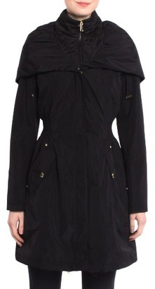 Women's Laundry By Shelli Segal Pillow Collar Raincoat $228 thestylecure.com