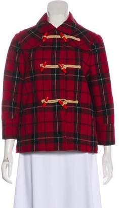 See by Chloe Collared Plaid Jacket