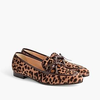 J.Crew Academy loafers in calf hair