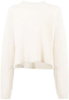 Proenza Schouler Cropped Crewneck Sweater