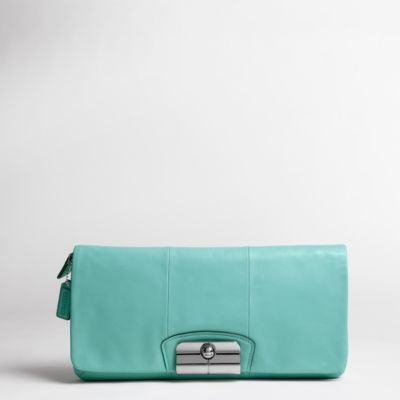 Kristin Leather Clutch