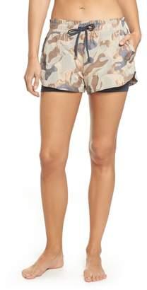 Koral Sand Layered Shorts