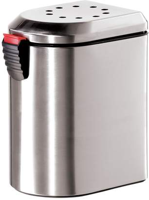 Oggi Deluxe Stainless Steel Countertop Compost Pail
