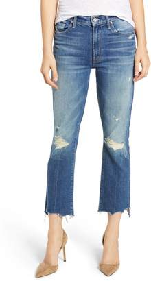 Mother The Insider Chewed Crop Step Hem Jeans