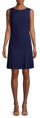 Karl Lagerfeld Paris Pleated Drop Waist Dress
