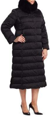 Marina Rinaldi Marina Rinaldi, Plus Size Quilted Collar Coat