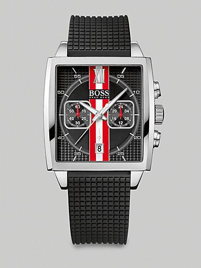 HUGO BOSS Square Dial Chronograph Watch