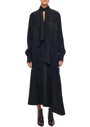 Tibi Guipure Lace Long Sleeve Dress
