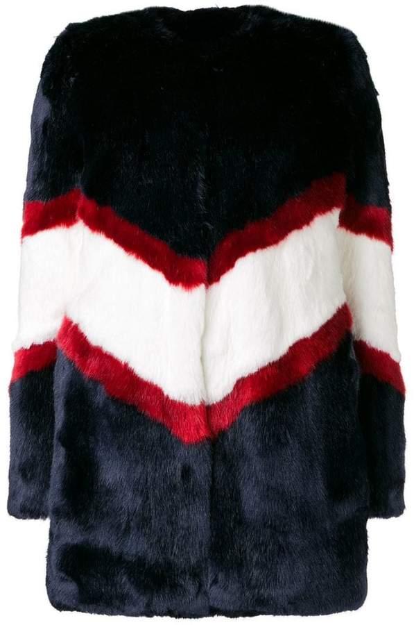 La Seine & Moi Ora faux fur coat