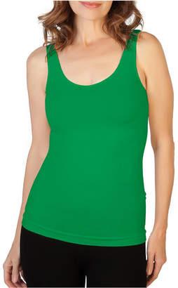 9b4185f03d4dfd Olive Green Tank Top - ShopStyle