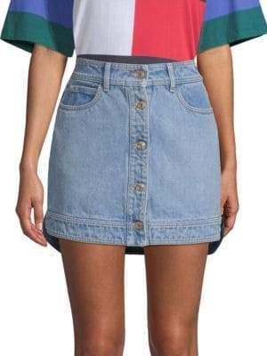 Tommy Hilfiger Tommy Denim Hybrid Mini Skirt