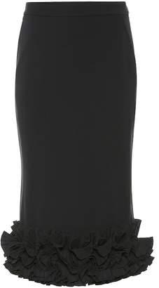 Max Mara Zircone crepe pencil skirt