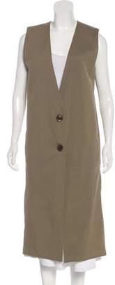 Lemaire Wool Sleeveless Coat