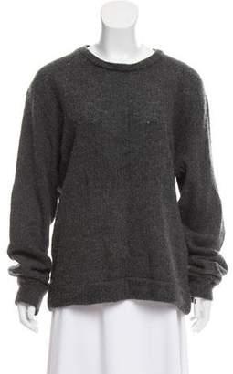 The Elder Statesman Cashmere Woven Sweater