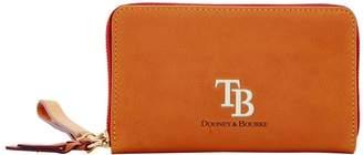 Dooney & Bourke MLB Rays Large Zip Around Phone Wristlet