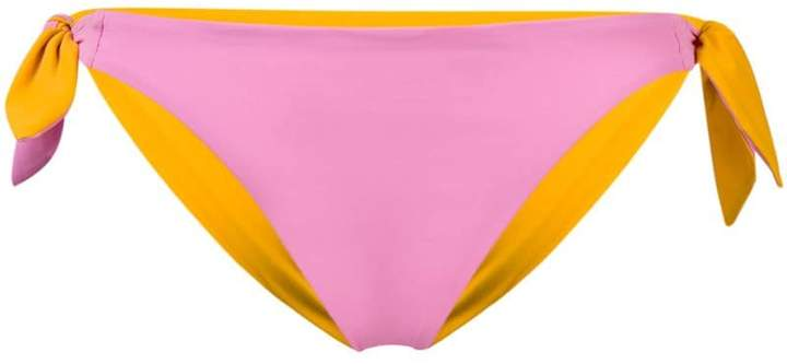 side fastened bikini bottom