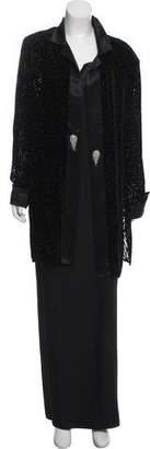 Jovani Embellished Maxi Dress Set