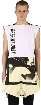 Raf Simons Upside Down Cotton Jersey T-Shirt