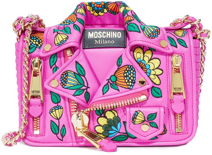 MoschinoMoschino Moto Shoulder Bag
