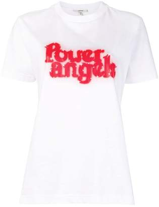 Ganni power angels T-shirt