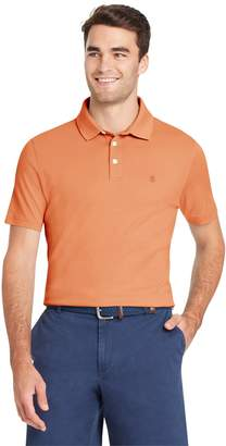 Izod Men's Interlock Solid Polo