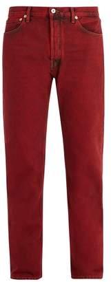 Valentino - Straight Leg Jeans - Mens - Red
