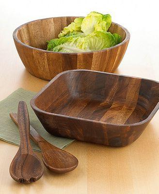 The Cellar Serveware, Acacia Wood Bowl