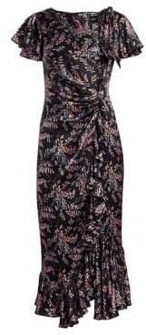 Cinq à Sept Nannon Floral Short Sleeve Dress
