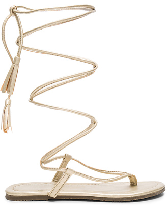 PILYQ Gladiator Sandals $66 thestylecure.com